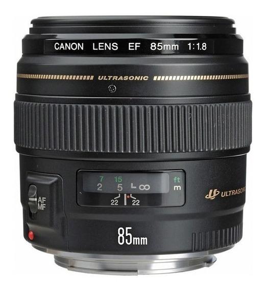 Lente Canon Ef 85mm F/1.8 Usm - Garantia 12 Meses
