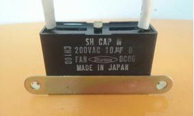 Capacitor Quadrado 10uf 200vac (lote 548)