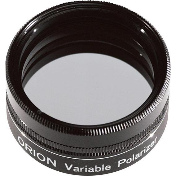 Filtro Polarizador Duplo Variável 1.25 Telescópio Lua Orion