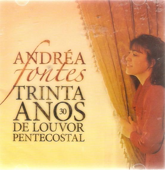 Cd Duplo Andréa Fontes - 30 Anos De Louvor Pentecostal Novo*