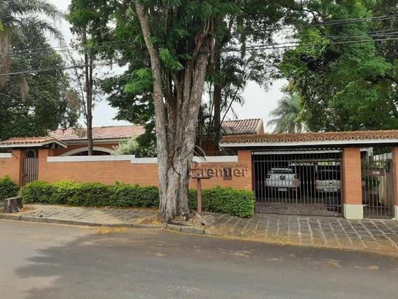 Casa Com 5 Dormitórios À Venda, 600 M² Por R$ 1.500.000 - Jardim Dom Bosco - Indaiatuba/sp - Ca1911