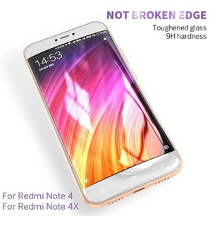 Cristal Full Cover Xiaomi Mi A1 A2 Redmi Note 5 7 Templado