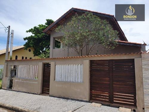 Sobrado Com 3 Dormitórios À Venda, 243 M² Por R$ 265.000 - Balneário Tropical - Itanhaém/sp - So0026