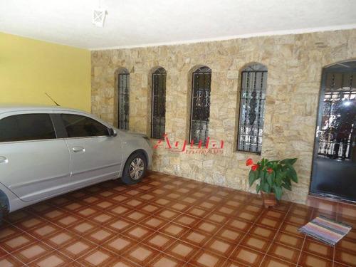Imagem 1 de 29 de Sobrado Com 3 Dormitórios À Venda, 201 M² Por R$ 550.000,00 - Jardim Santo Alberto - Santo André/sp - So0776
