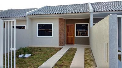 Casa Para Venda Em Fazenda Rio Grande, Greenfild, 2 Dormitórios, 1 Banheiro - 1038873