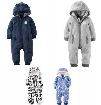 Promoção De Inverno Macacao Carters Em Fleece !!!!