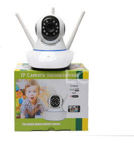 Ip Camera Wifi 3 Antenas Hd 720p App Yoosee/yyp2p Noturna