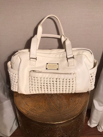 Bolsa Armani Exchange Off White Semi-novo