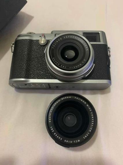 Fujifilm Finepix X100 + Lente Normal E Wide (perfeita)