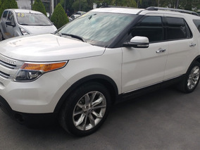 Explorer Limited 4x4 2014 Blanco Aut
