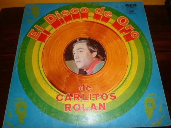 Lp Vinilo - Carlitos Pueblo Rolán - El Disco De Oro - Exc