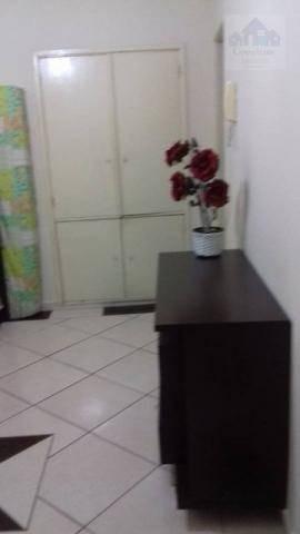 Kitnet Com 1 Dormitório À Venda, 21 M² Por R$ 127.000 - Centro - São Vicente/sp - Kn0171