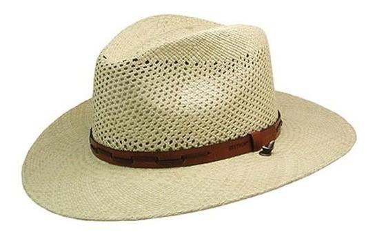 Sombreros De Vaquero,gorra Stetson Airway Ventilación Pa..