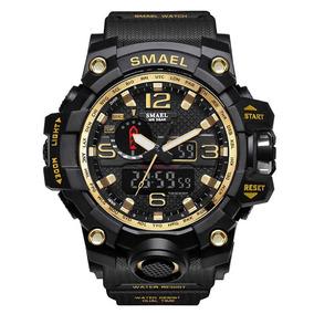Relógio Masculino Milita Smael 1545 À Prova D