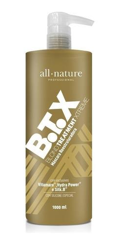 Botox Escova Progressiva Blond Control All Nature