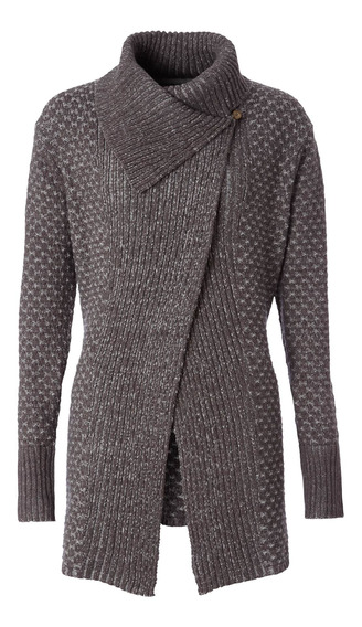 Sweater Mujer Frost Cardigan Gris Royal Robbins By Doite