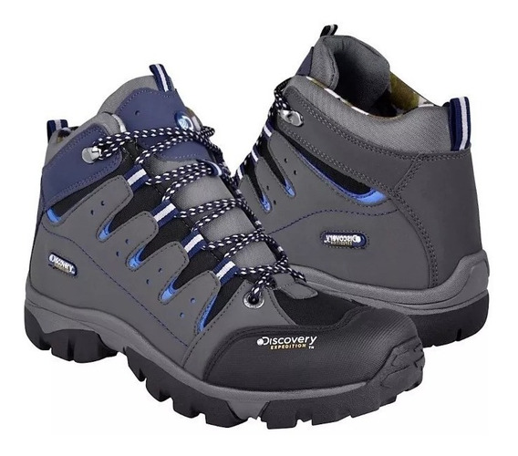 Botas Discovery Expedition Ds Blackwood Gris 9075 Sh+