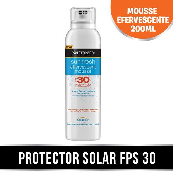 Neutrogena Sun Fresh Mousse Efervecente Fps30 X 200ml