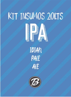 Kit Cerveza Artesanal - Ipa 20lts Beerman