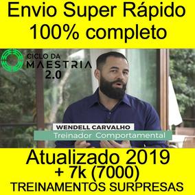 Ciclo Da Maestria 2019 - Wendell Carvalho + Brindes