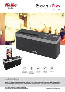 Parlante Portátil Kolke Bluetooth - Usb + Envios!