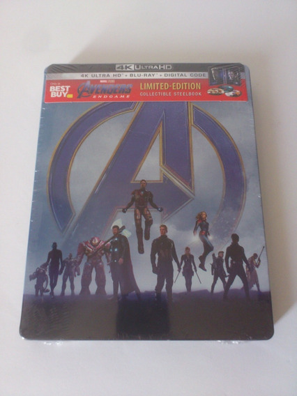 Avengers Endgame 4k Uhd Blu-ray Steelbook Best Buy