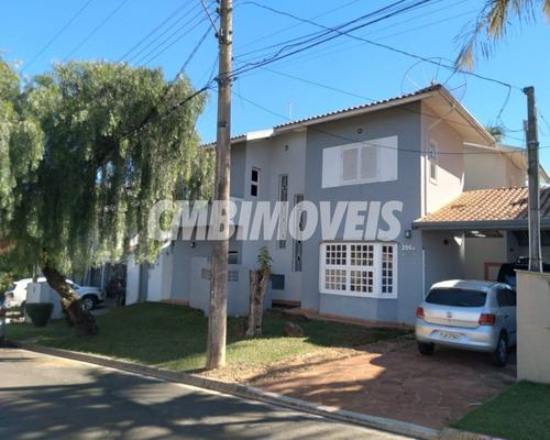 Imagem 1 de 30 de Casa Em Condomínio Fechado 3 Dormitórios No Bairro Tijucos Da Telha Em Campinas - Cf01352 - Cf01352 - 69660745