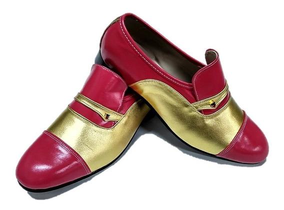 Sapato Masculino Multicolor Bicolor (fantasias / Carnaval)