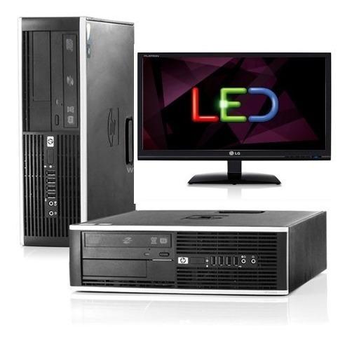 Kit Desktop Hp 8300 Core I5 3570 3.10ghz 4gb 1t + Monitor LG