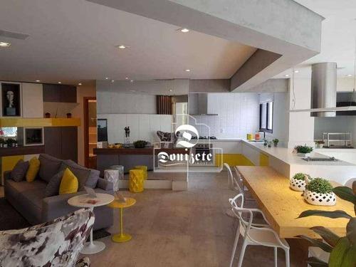 Apartamento À Venda, 160 M² Por R$ 1.099.000,01 - Vila Guiomar - Santo André/sp - Ap16438