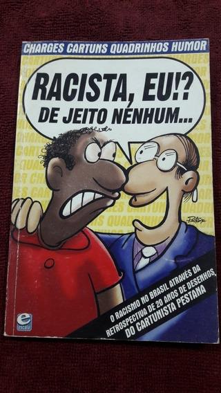 Livro Charges, Cartuns, Quadrinhos E Humor Muricio Pestana