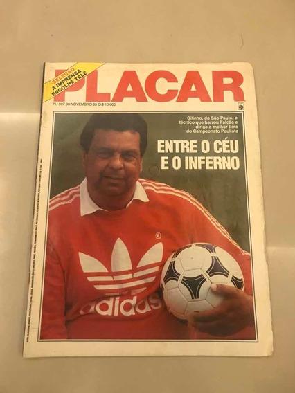 Revista Placar 807 São Paulo Cascavel Flamengo Gremio 1985