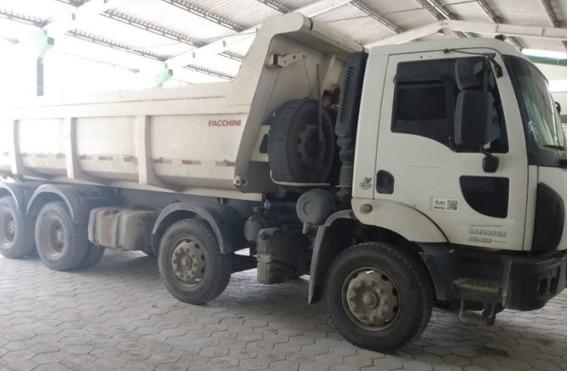 Ford Cargo 2629 Caçamba 8x4 Ford - 2014 Tem Divida