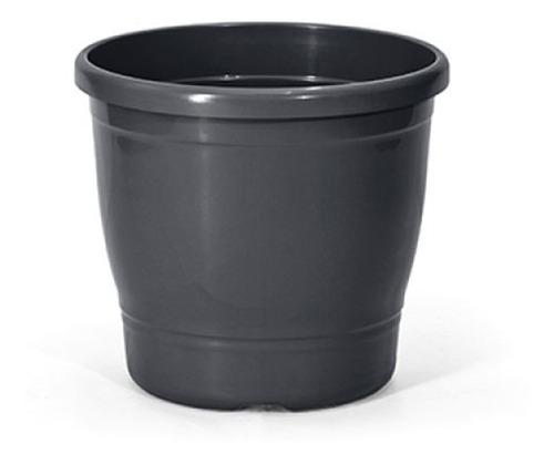 Imagem 1 de 2 de Kit Vaso Primavera 8l + Prato Redondo Para Vasos 03