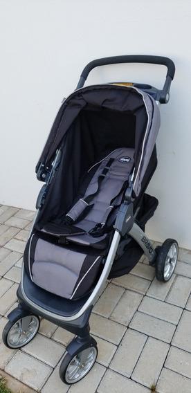 Carrinho Chicco Bravo Trio Travel System C/ Bebê Conforto