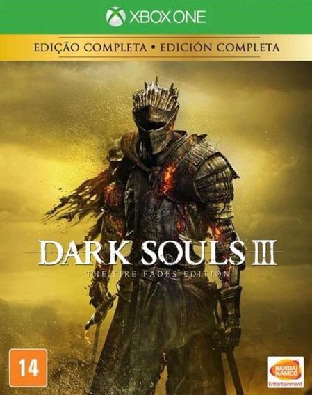 Dark Souls 3 The Fire Fades Edition - Xbox One -novo- Física