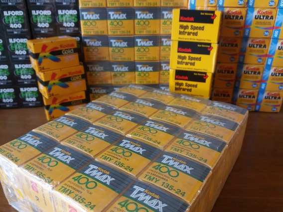 Kodak T-max 400 - 35mm (24 Poses) - Vencidos
