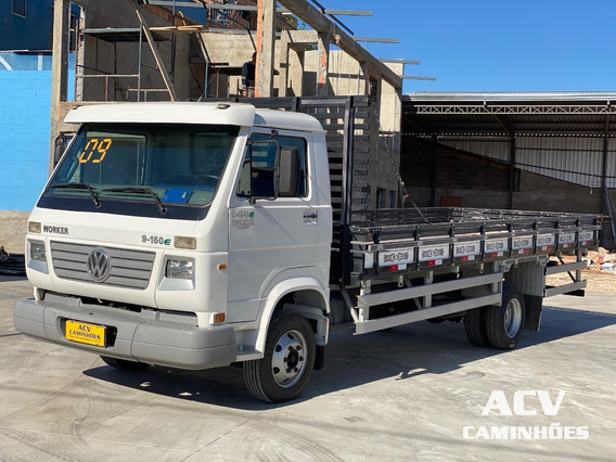 Vw 9150 Worker 2009 Carroceria 6,30 Mts