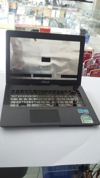 Carcaça Completa Com Dobradiças Notebook Asus X451c