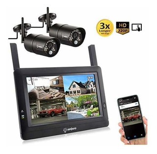 Sequro Guardpro Diy Wireless Home Security 1080p 720p Cámar