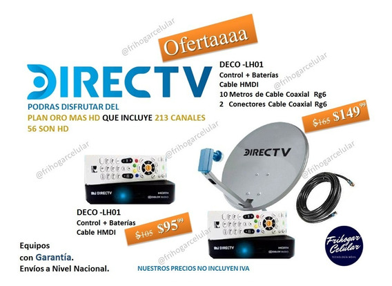 Directv Hd Prepago
