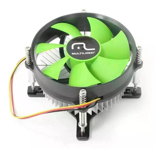 Multilaser Cooler Cpu 775 Intel Ga043 Pc Gabinete 2200 Rpm