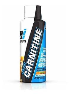 Bpi Sports Liquid Carnitina (30 Serv) - Laranja