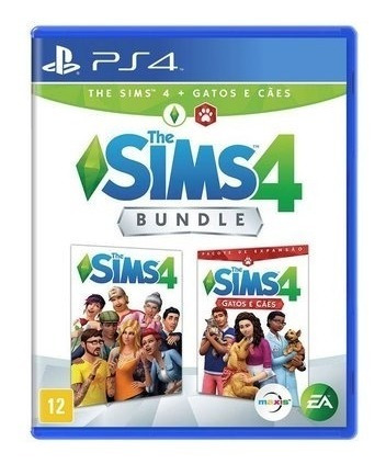 The Sims 4 + Gatos E Cães Ps4 Mídia Física Novo Lacrado