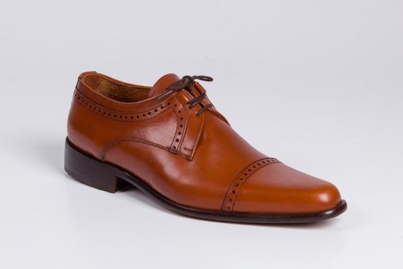 Zapatos De Cuero Para Hombre - Modelo Barcelona