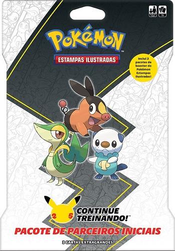 Imagem 1 de 3 de Card Game Pokémon Booster Blister Gigante Parceiros De Unova