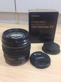Lente Yongnuo Yn 100mm F/2.0 Canon