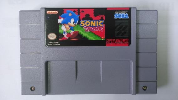 Sonic 4 Em Ingles Hack Super Famicom Super Nintendo Snes Sf