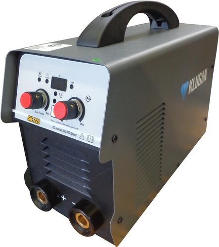 Klugan Sie220 Soldadora Inverter 200a, 1.6-5mm Mma/tig