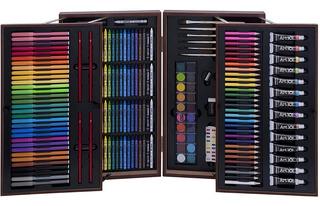 Set De Pintura Artística Kit Dibujo Oleo Art 101 215 Piezas